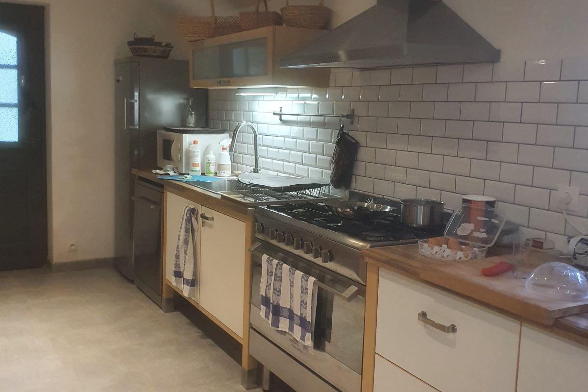 Espace cuisine à disposition